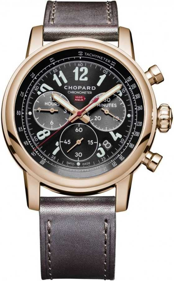 Chopard Mille Miglia Limited Edition Luxury Men's Watch 161297-5001 Black USA - GOOFASH - Mens WATCHES