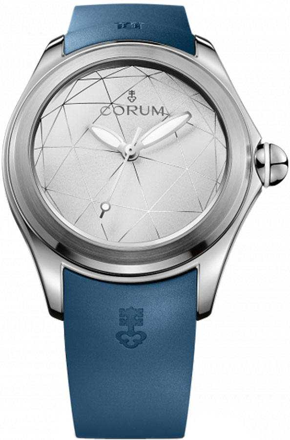 Corum Bubble 47 Origami Automatic Men's Watch 082.310.20/0373 OR01 White USA - GOOFASH - Mens WATCHES