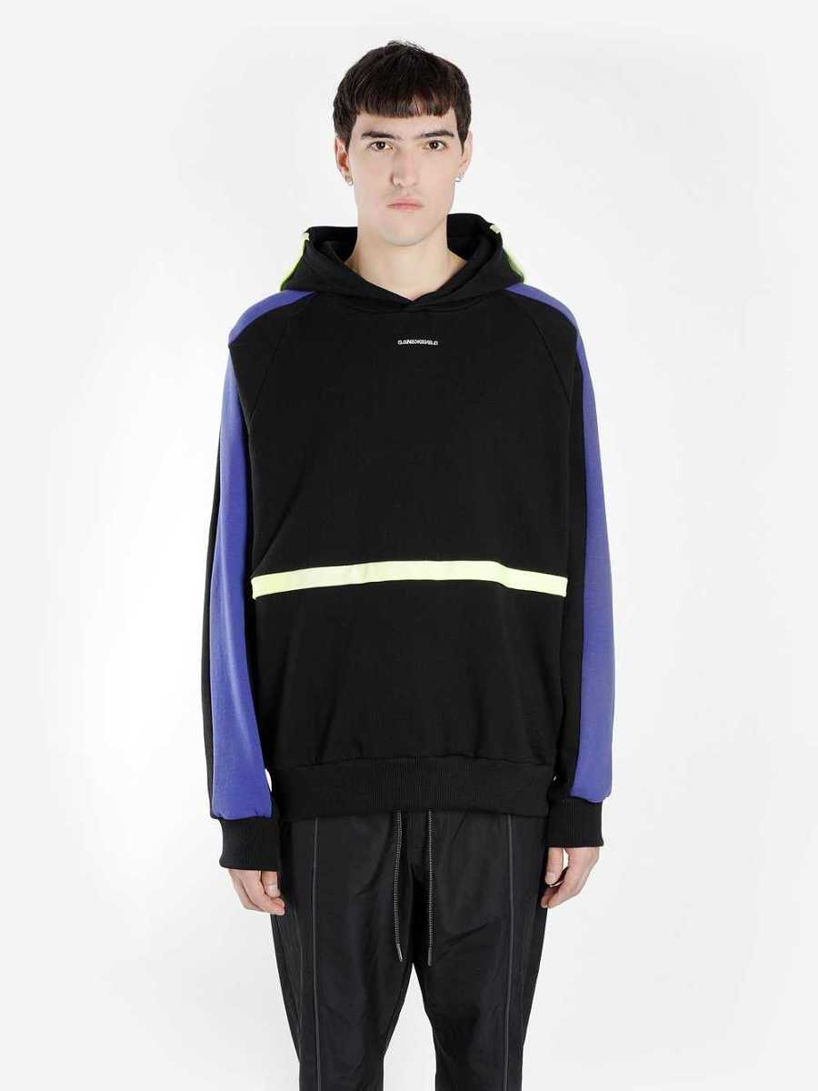 D.Gnak By Kang.D Sweaters Black USA - GOOFASH - Mens SWEATERS