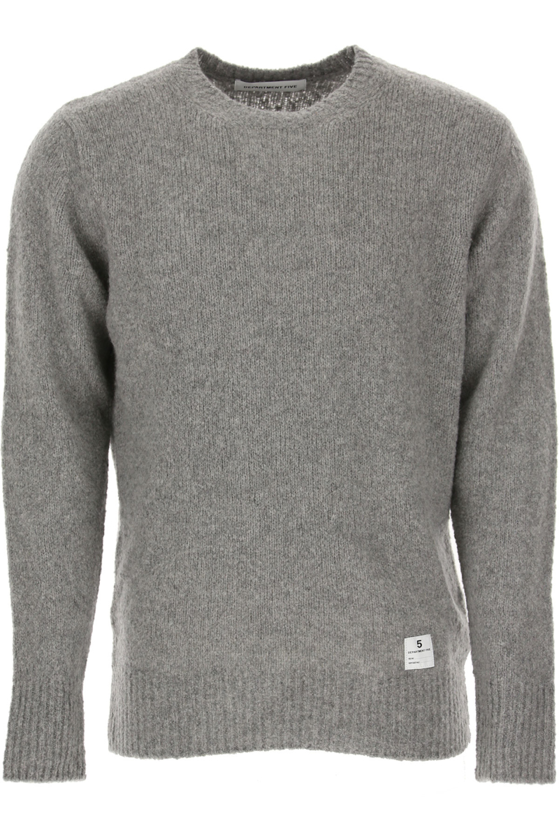 Department Five Sweater for Women Jumper Grey Canada - GOOFASH - Womens SWEATERS