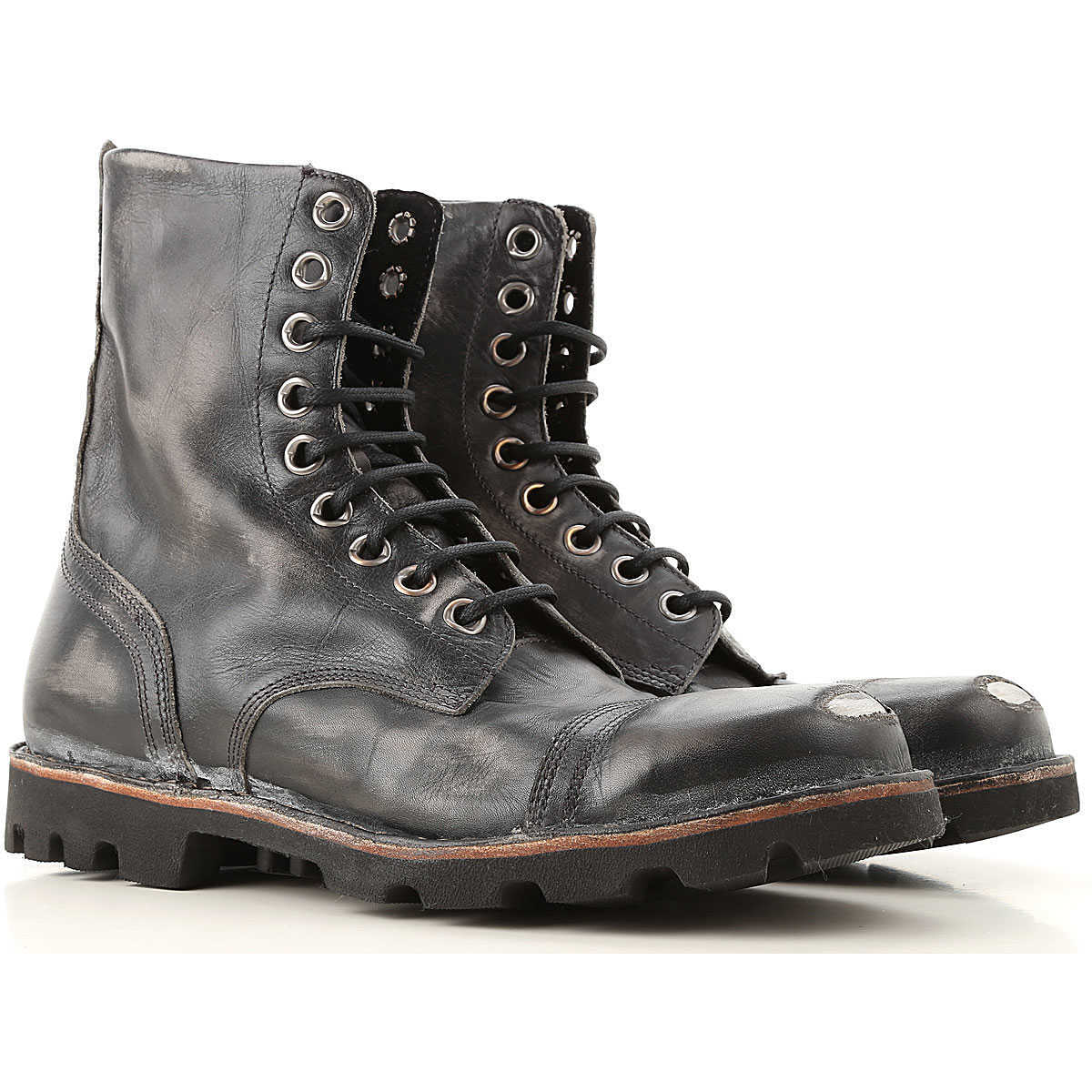 Diesel Boots for Men Booties Canada - GOOFASH - Mens BOOTS