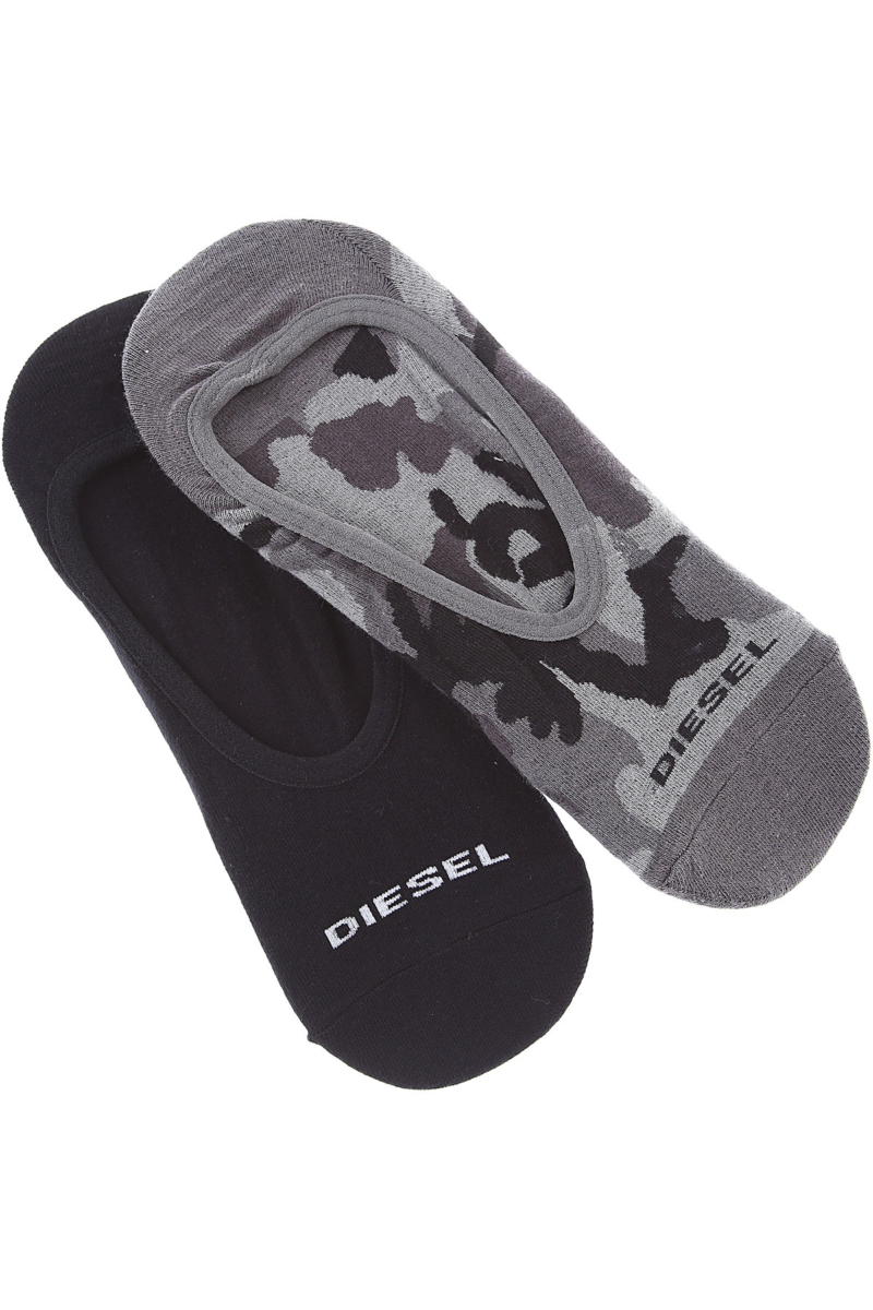 Diesel Socks Socks for Men 2 Pack Canada - GOOFASH - Mens SOCKS