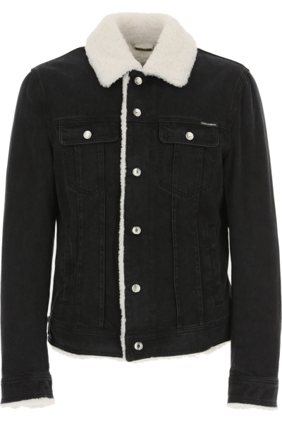 Dolce & Gabbana Down Jacket for Men Puffer Ski Jacket On Sale in Outlet Canada - GOOFASH - Mens JACKETS