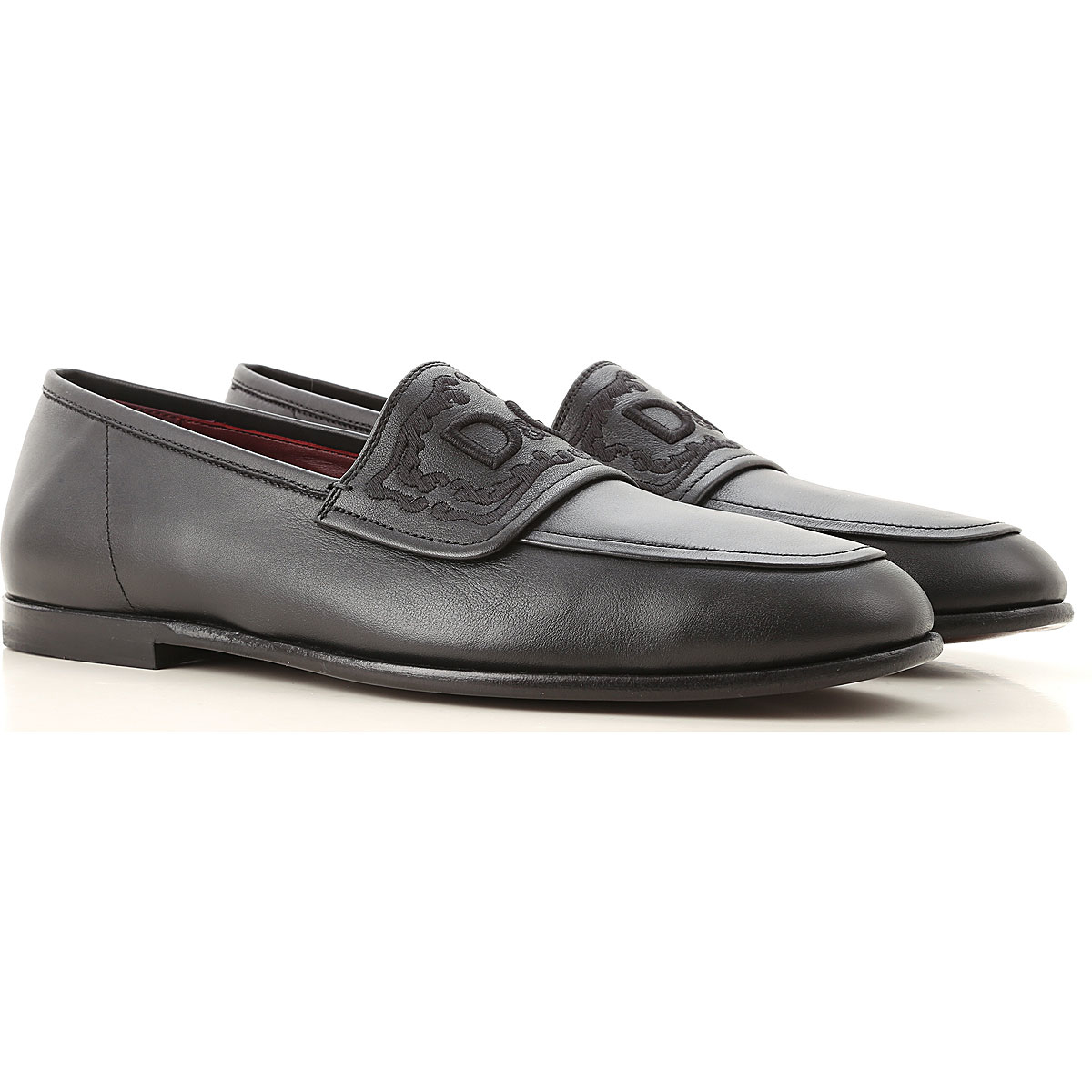 Dolce & Gabbana Loafers for Men Black Canada - GOOFASH - Mens LOAFERS