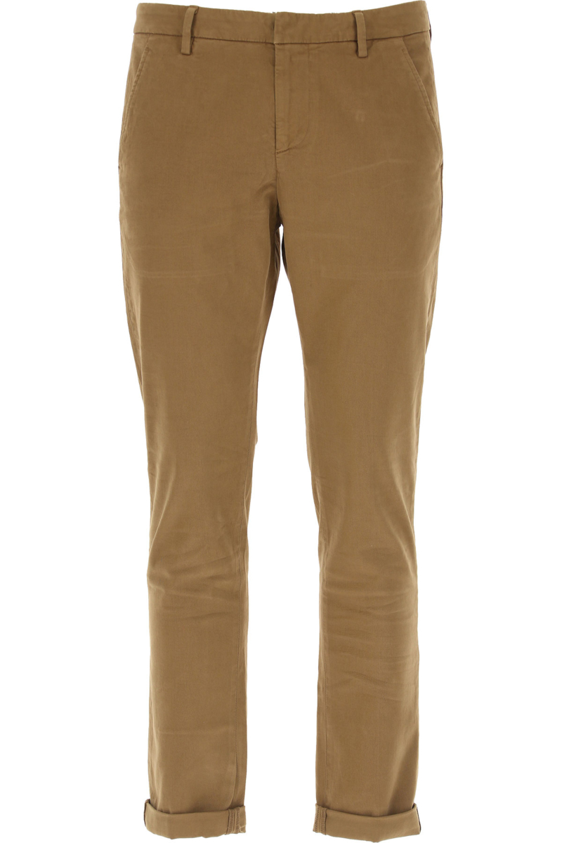 Dondup Pants for Men tabacco Canada - GOOFASH - Mens TROUSERS