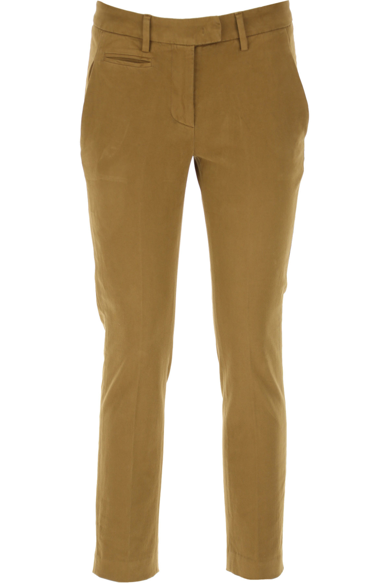 Dondup Pants for Women Camel Canada - GOOFASH - Womens TROUSERS