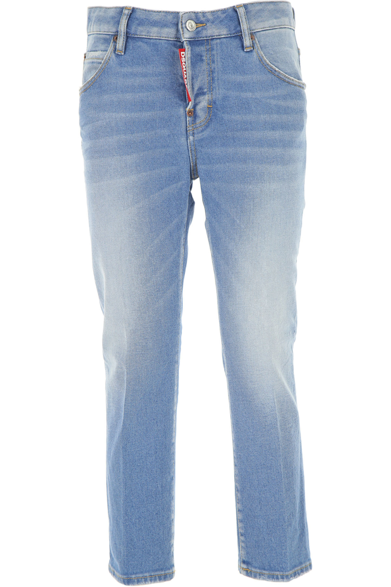 Dsquared2 Jeans Light Blue Canada - GOOFASH - Womens JEANS