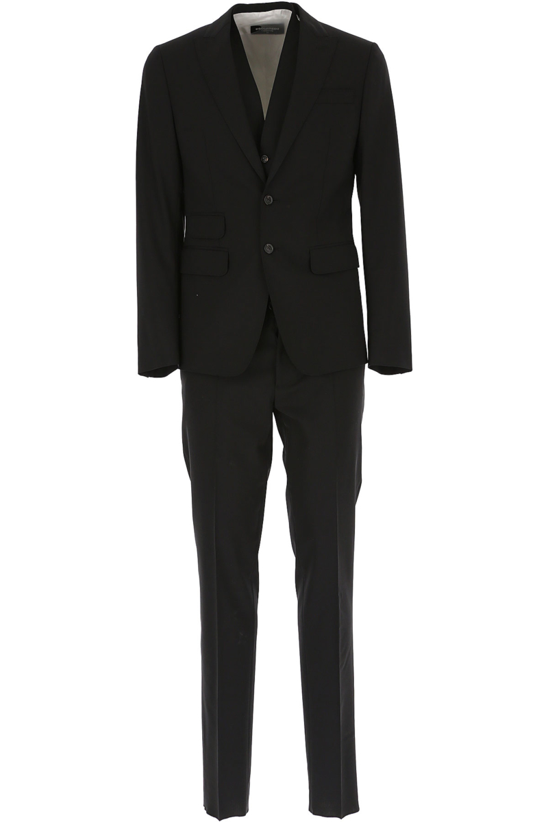 Dsquared2 Men's Suit Black Canada - GOOFASH - Mens SUITS