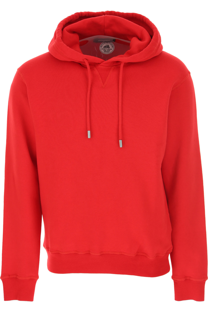 Dsquared2 Sweatshirt for Men Red Canada - GOOFASH - Mens SWEATERS