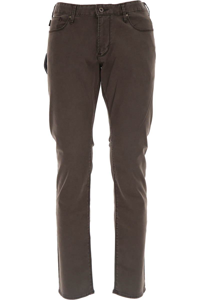 Emporio Armani Jeans in Outlet Brown Canada - GOOFASH - Mens JEANS