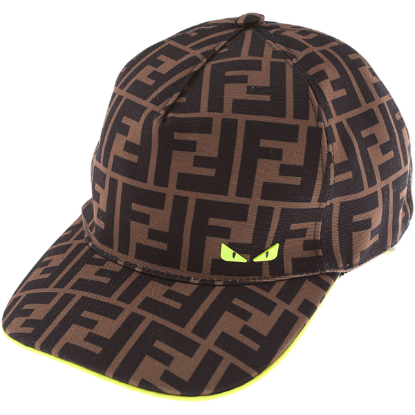 Fendi Kids Hats for Boys Brown Canada - GOOFASH - Mens HATS