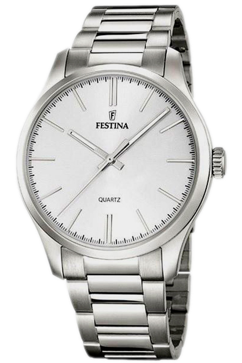 Festina Watch for Men Steel Canada - GOOFASH - Mens WATCHES