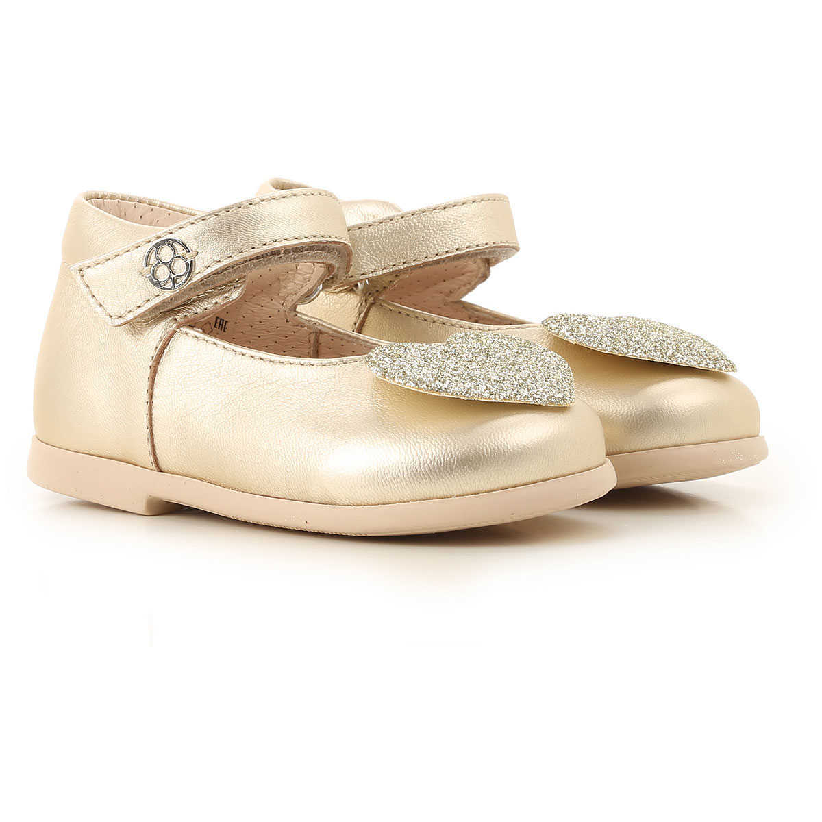 Florens Kids Shoes for Girls Gold Canada - GOOFASH -