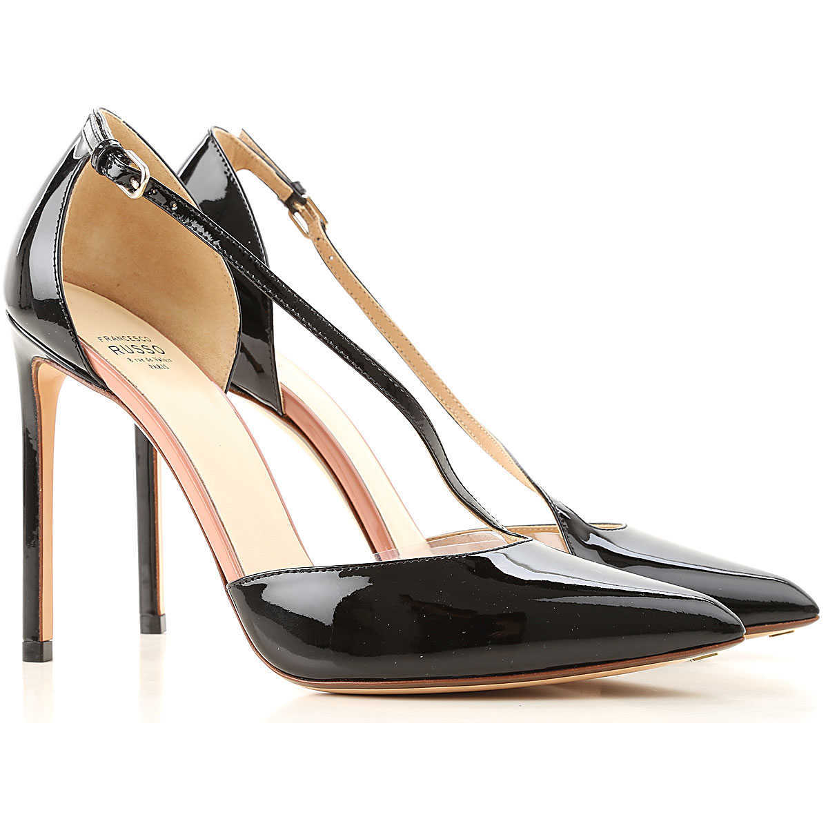 Francesco Russo Pumps & High Heels for Women in Outlet Black Canada - GOOFASH - Womens PUMPS