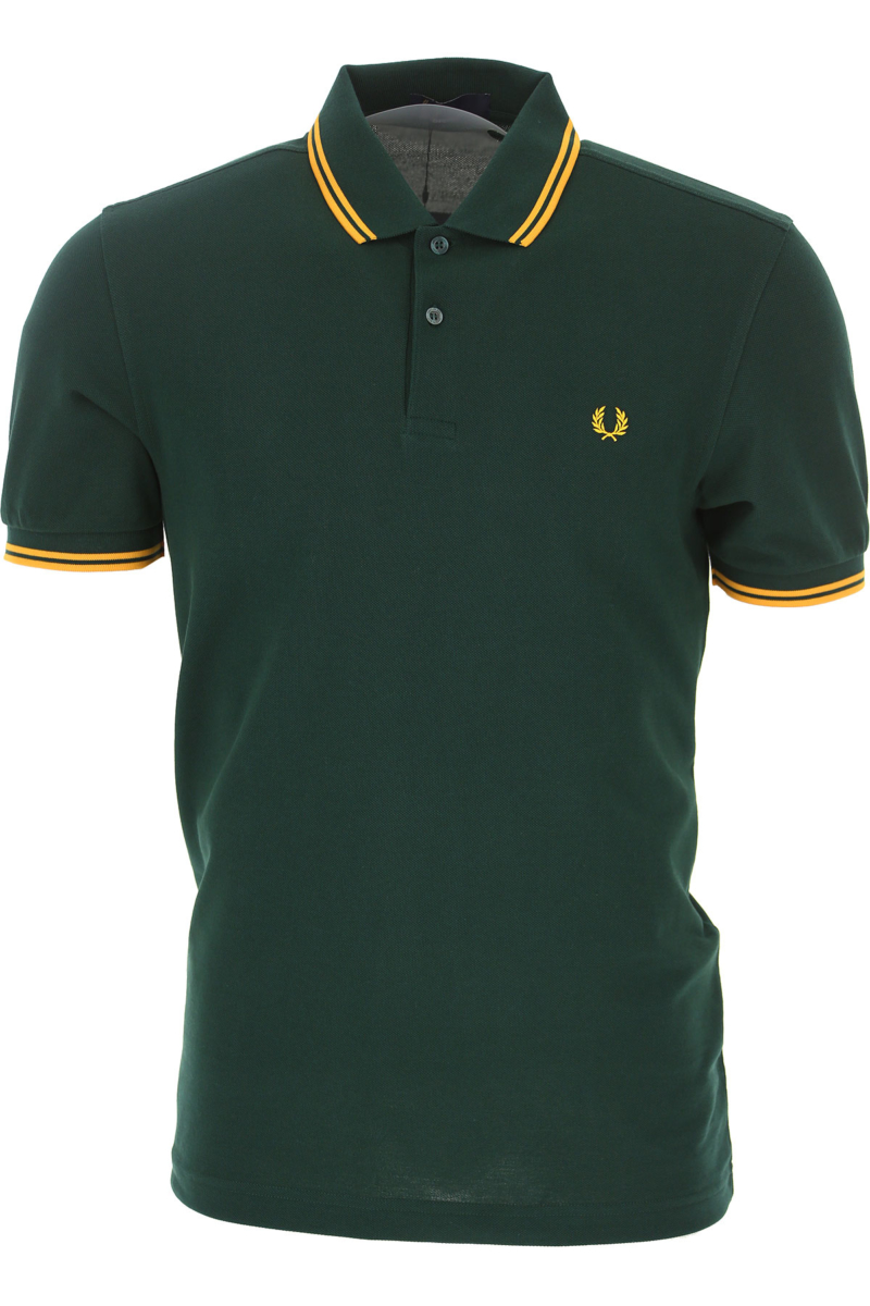 Fred Perry Polo Shirt for Men evergreen Canada - GOOFASH - Mens POLOSHIRTS