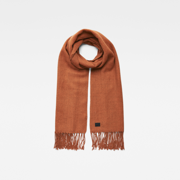 G-Star Accessories Pinch Scarf Orange Female Canada - GOOFASH - Womens SCARFS