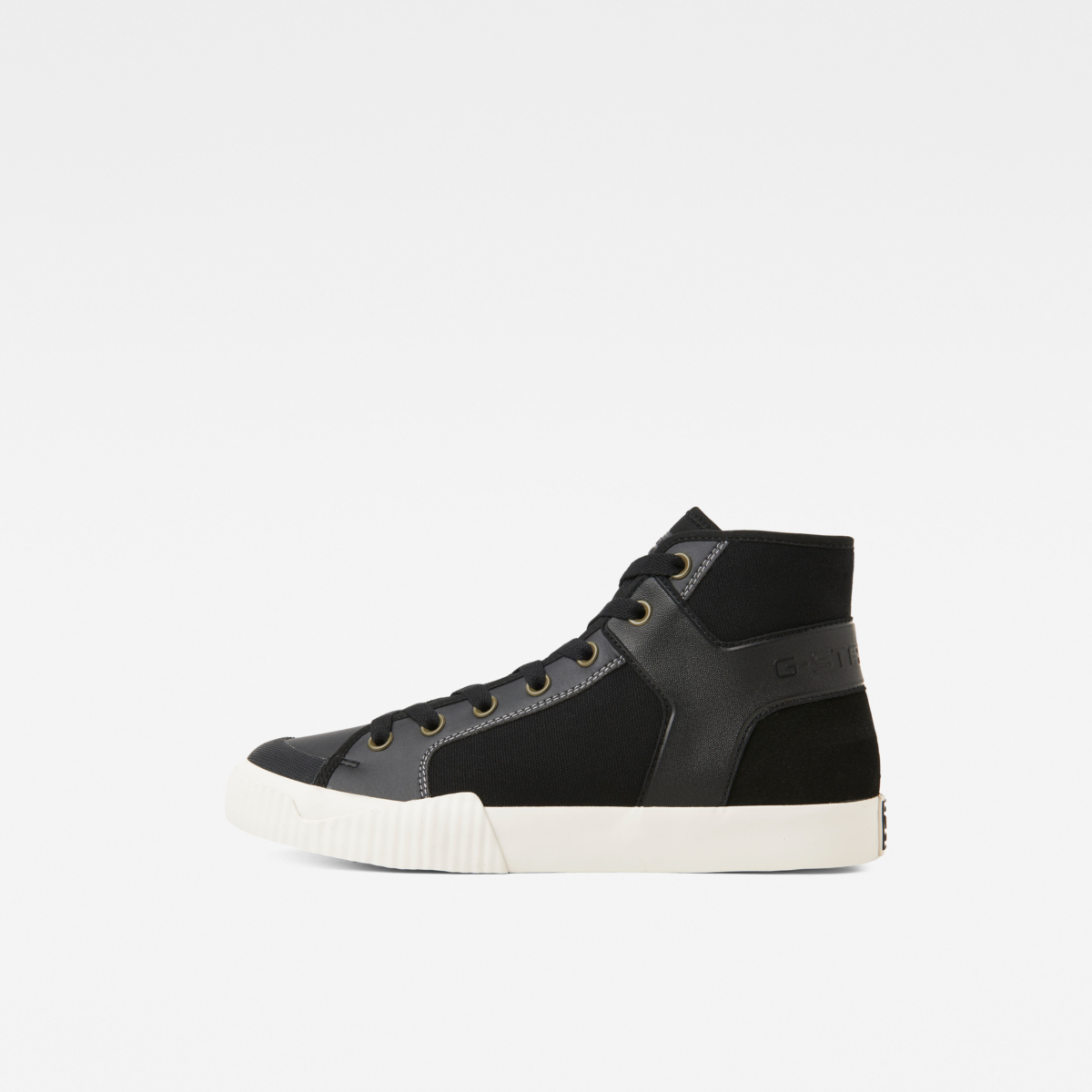 G-Star Shoes Rackam Tendric Mid Boots Black Male Canada - GOOFASH - Mens BOOTS