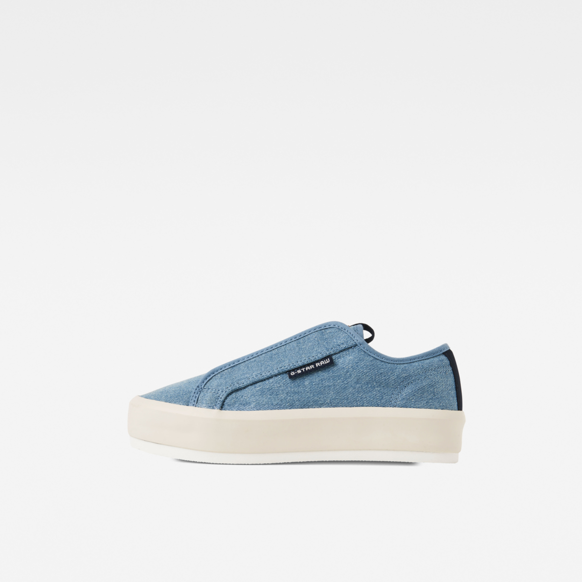 G-Star Shoes Strett Lace Up Light Blue Female Canada - GOOFASH - Womens LEATHER SHOES