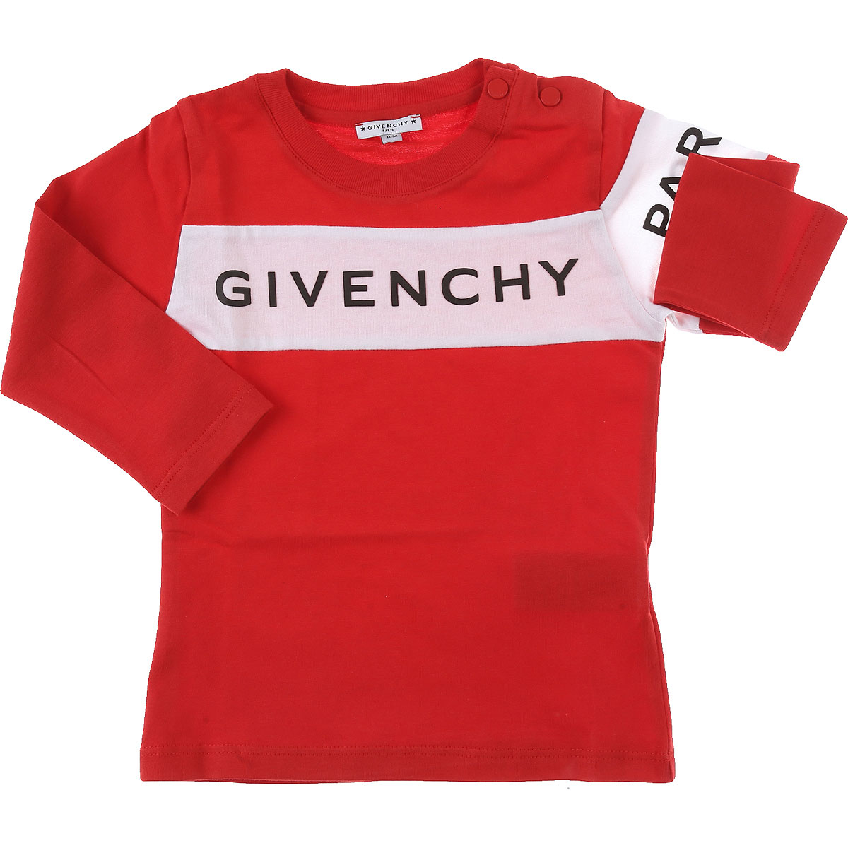 Givenchy Baby T-Shirt for Boys Red Canada - GOOFASH - Mens T-SHIRTS