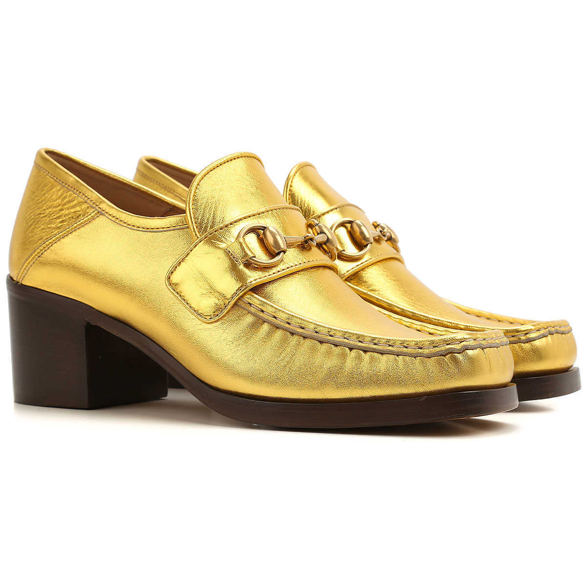 Gucci Loafers for Women Gold Canada - GOOFASH - Womens FLAT SHOES