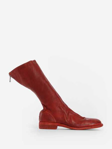 Guidi Boots Red Canada - GOOFASH - Mens BOOTS