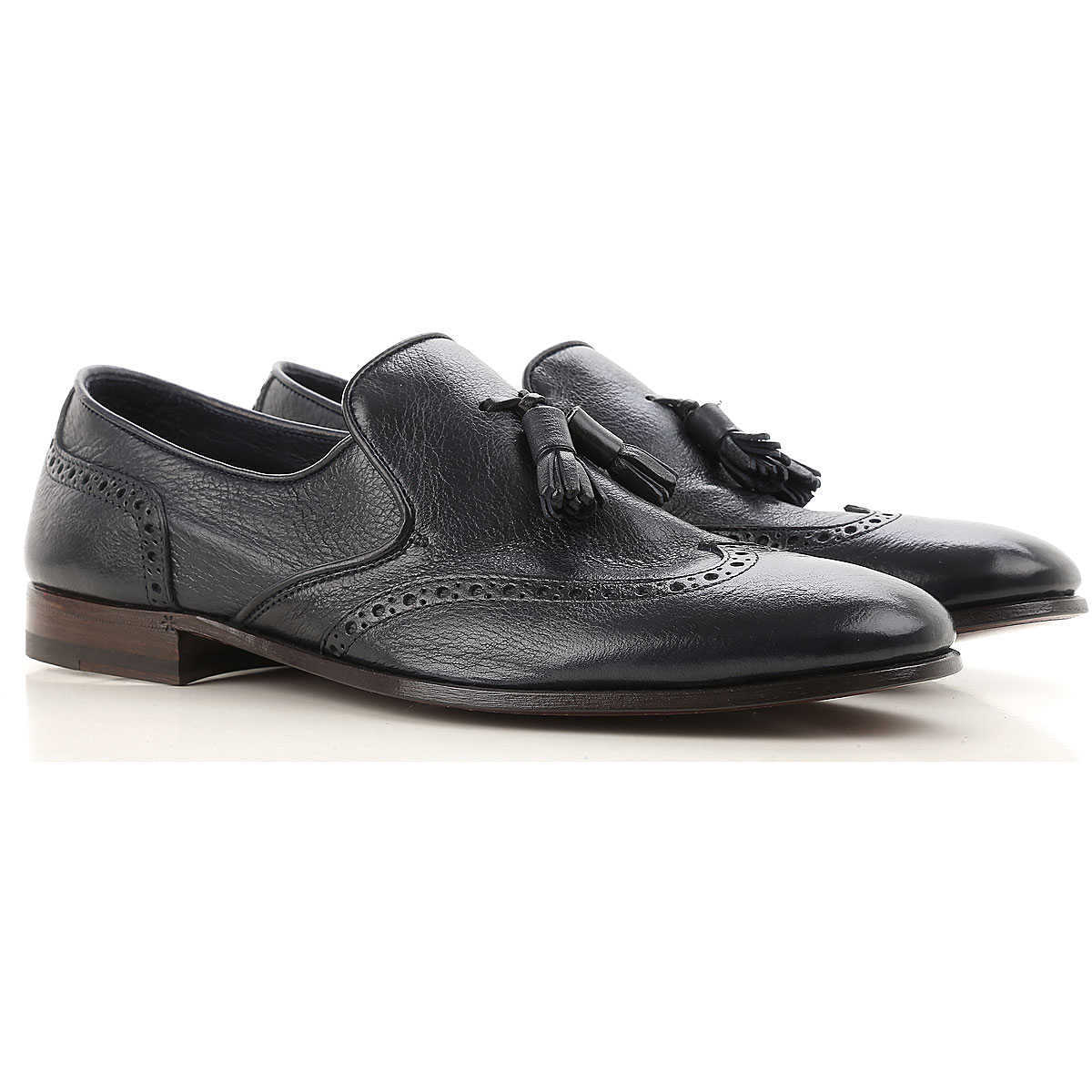Henderson Loafers for Men Blue Ink Canada - GOOFASH - Mens LOAFERS