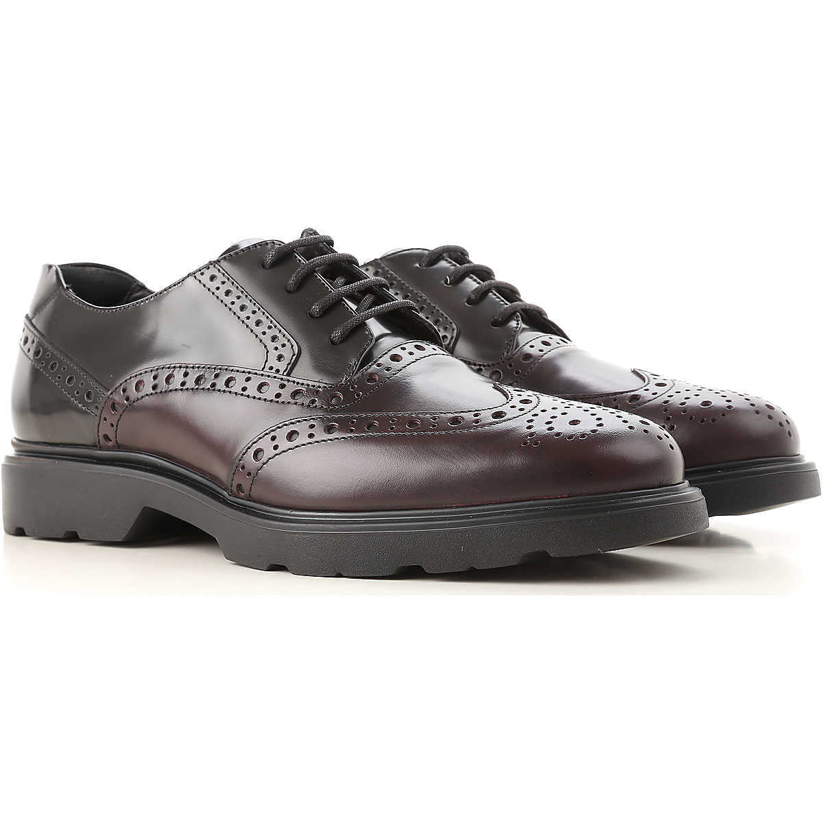 Hogan Lace Up Shoes for Men Oxfords Derbies and Brogues On Sale Canada - GOOFASH - Mens FORMAL SHOES