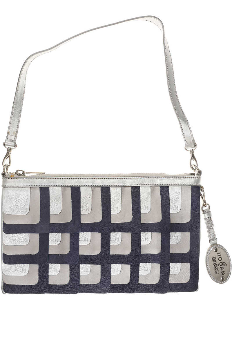 Hogan Shoulder Bag for Women in Outlet Silver Canada - GOOFASH - Womens BAGS