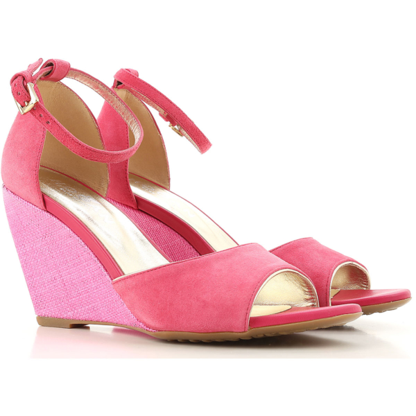 Hogan Wedges for Women in Outlet Carmine Canada - GOOFASH - Womens HOUSE SHOES