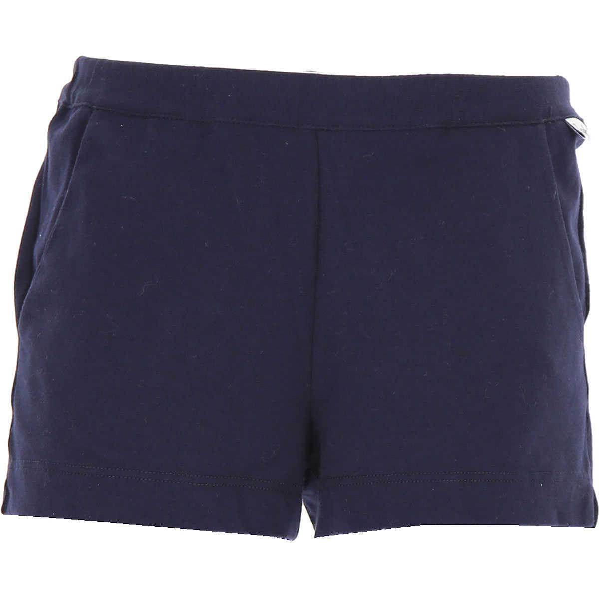 Il Gufo Kids Shorts for Girls in Outlet Blue Canada - GOOFASH - Womens SHORTS