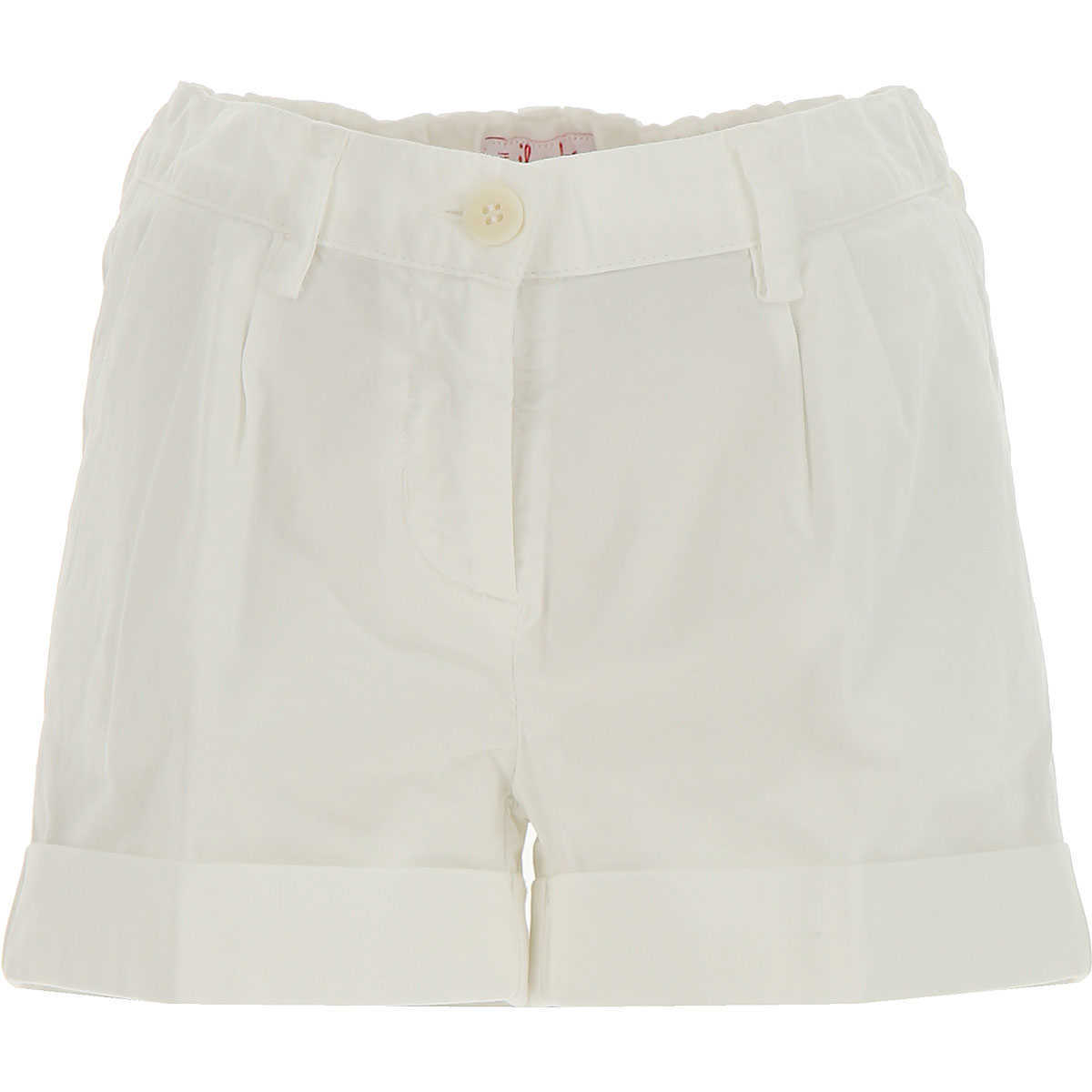 Il Gufo Kids Shorts for Girls in Outlet White Canada - GOOFASH - Womens SHORTS