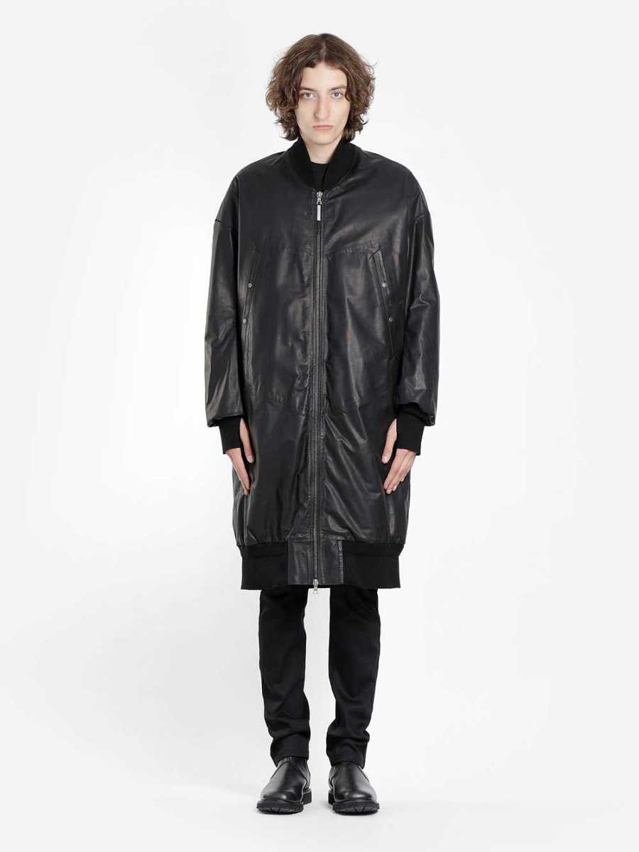 Isaac Sellam Coats Black USA - GOOFASH - Mens COATS