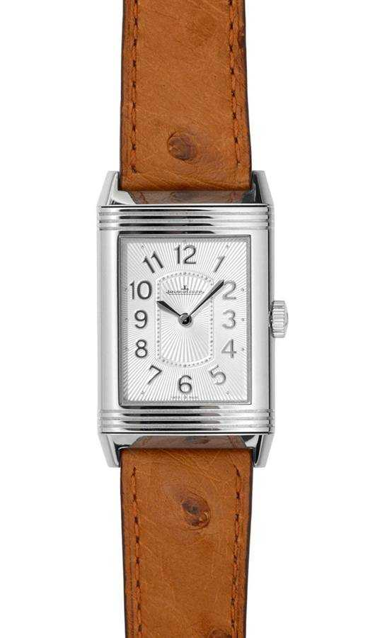 Jaeger LeCoultre Reverso Silver Dial Women's Watch Q3208424 Silver USA - GOOFASH - Womens WATCHES
