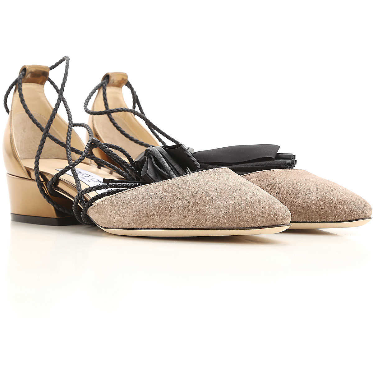 Jimmy Choo Sandals for Women in Outlet Light Mocha Canada - GOOFASH - Womens SANDALS