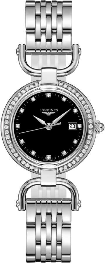 Longines Equestrian Collection Womens Watch L6.131.0.57.6 Black USA - GOOFASH - Womens WATCHES