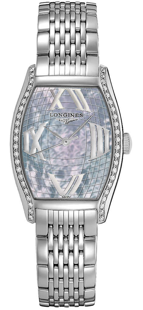 Longines Evidenza Pearl Blue Dial Women's Luxury Watch L2.155.0.95.6 Blue USA - GOOFASH - Womens WATCHES