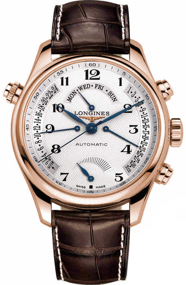 Longines Master Collection L2.714.8.78.3 Silver USA - GOOFASH - Mens JEWELRY