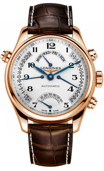 Longines Master Collection L2.715.8.78.3 Silver USA - GOOFASH - Mens JEWELRY