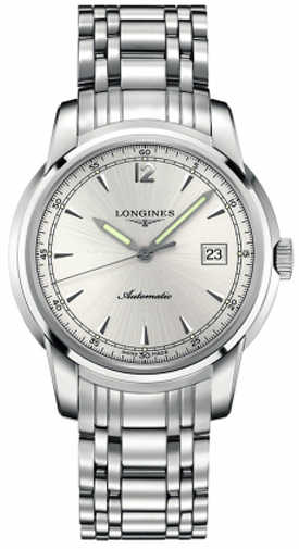 Longines The Saint-Imier Silver Dial Men's Watch L2.766.4.79.6 Silver USA - GOOFASH - Mens WATCHES