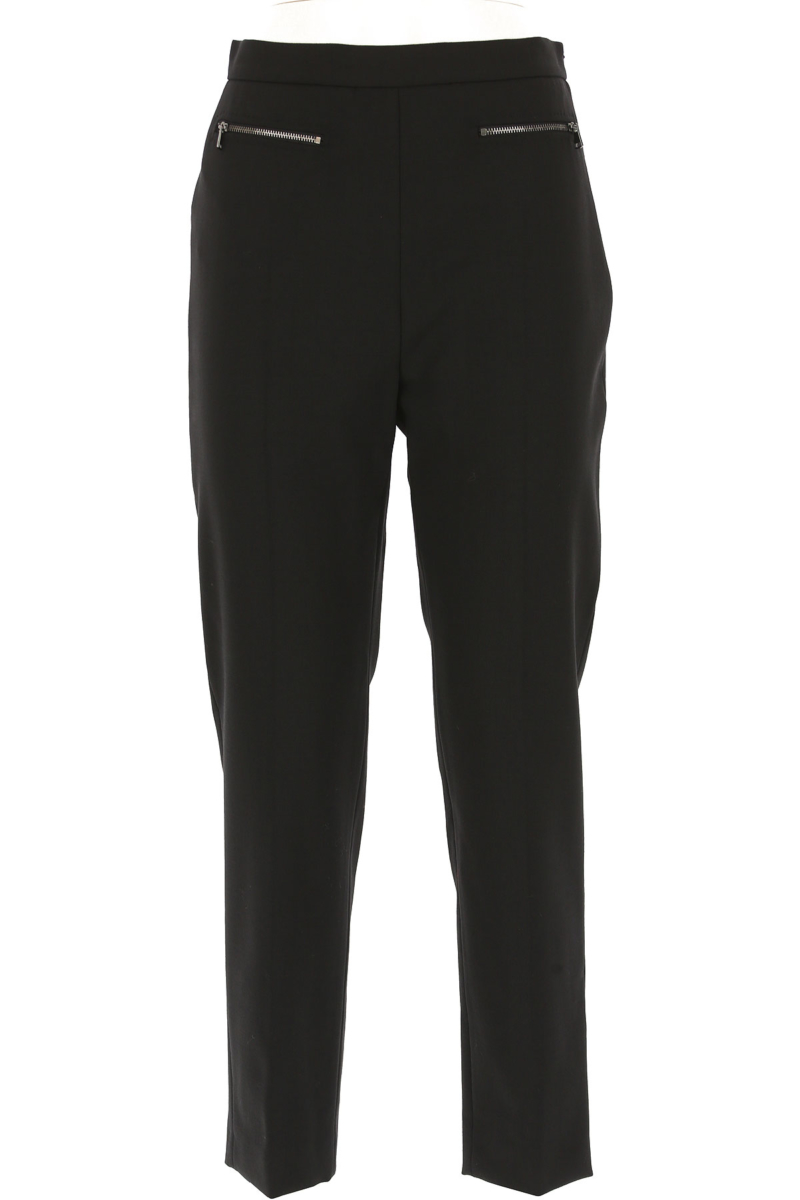 Max Mara Pants for Women in Outlet Black Canada - GOOFASH - Womens TROUSERS