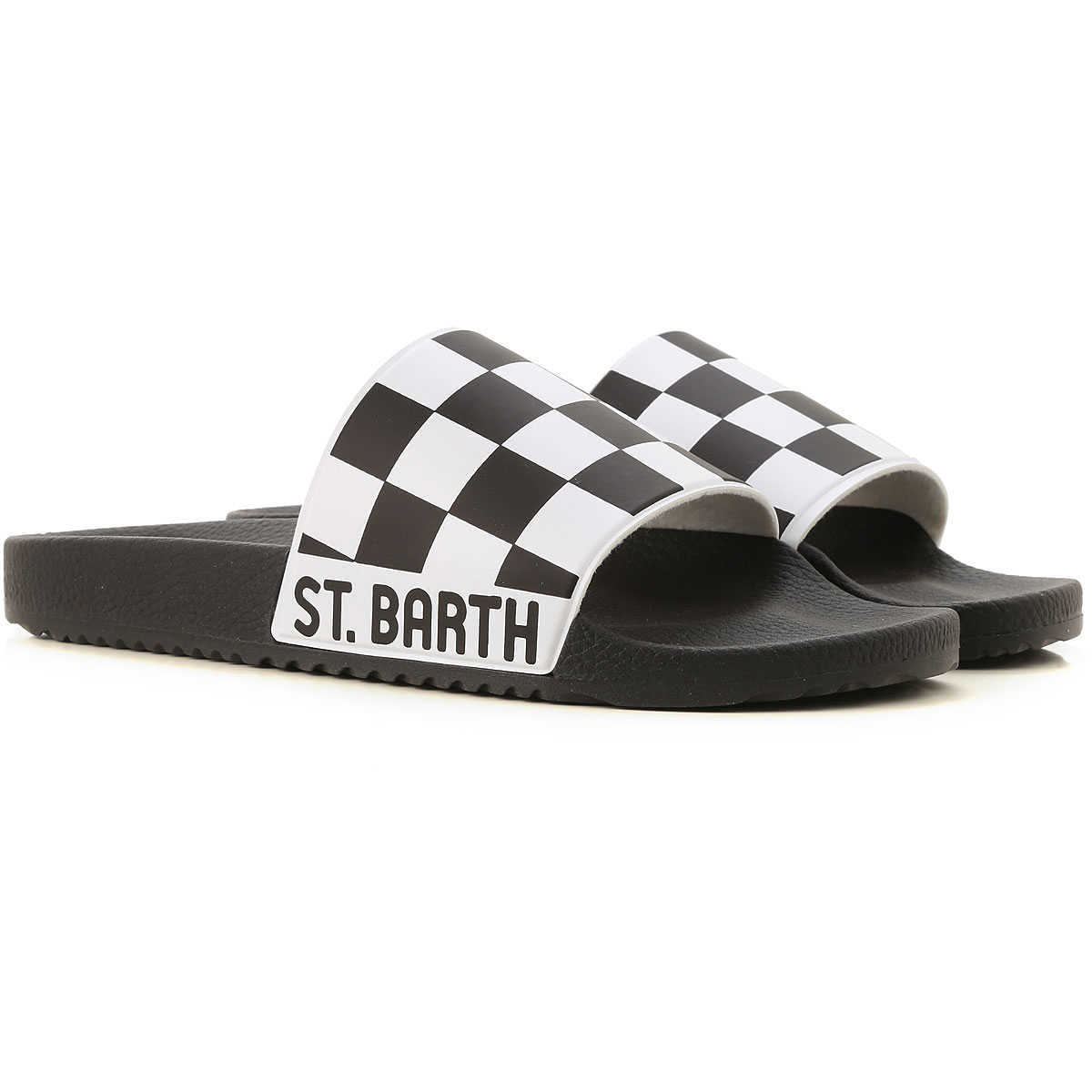 Mc2 Saint Barth Flip Flops for Men in Outlet Black Canada - GOOFASH - Mens SLIPPERS