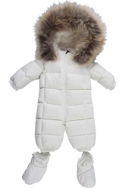 Moncler Baby Bodysuits & Onesies for Boys White Canada - GOOFASH - Mens SUITS