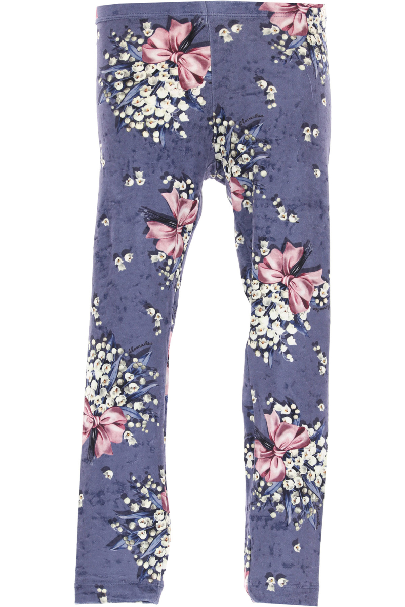 Monnalisa Kids Pants for Girls in Outlet Avio Canada - GOOFASH - Womens TROUSERS
