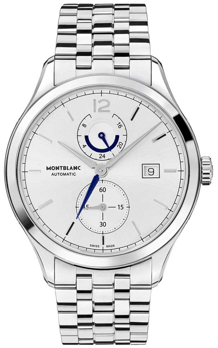 MontBlanc Heritage Silver Dial Men's Watch 112648 Silver USA - GOOFASH - Mens WATCHES