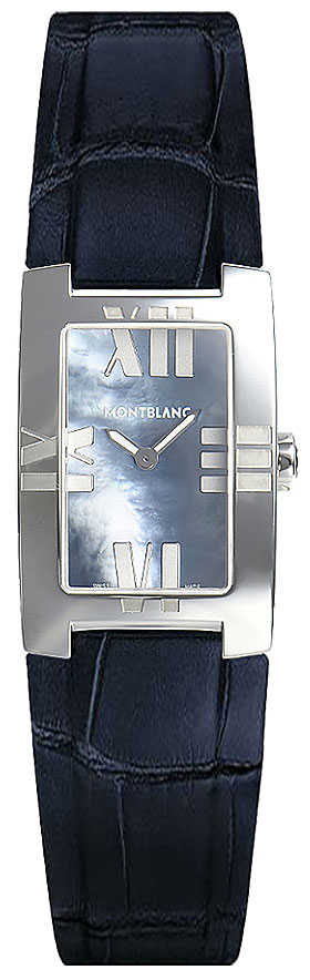 MontBlanc Profile Elegance Pearl Black Dial Women's Fashion Watch 104294 Black Mother Of Pearl USA - GOOFASH - Womens WATCHES