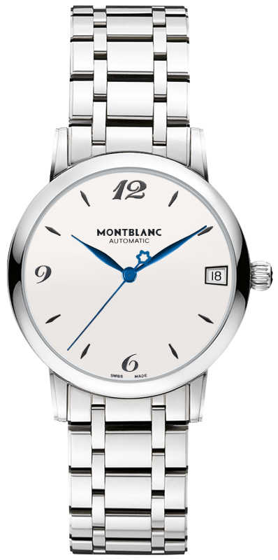MontBlanc Star Classique Silver Dial Women's Automatic Watch 111591 Silver USA - GOOFASH - Womens WATCHES