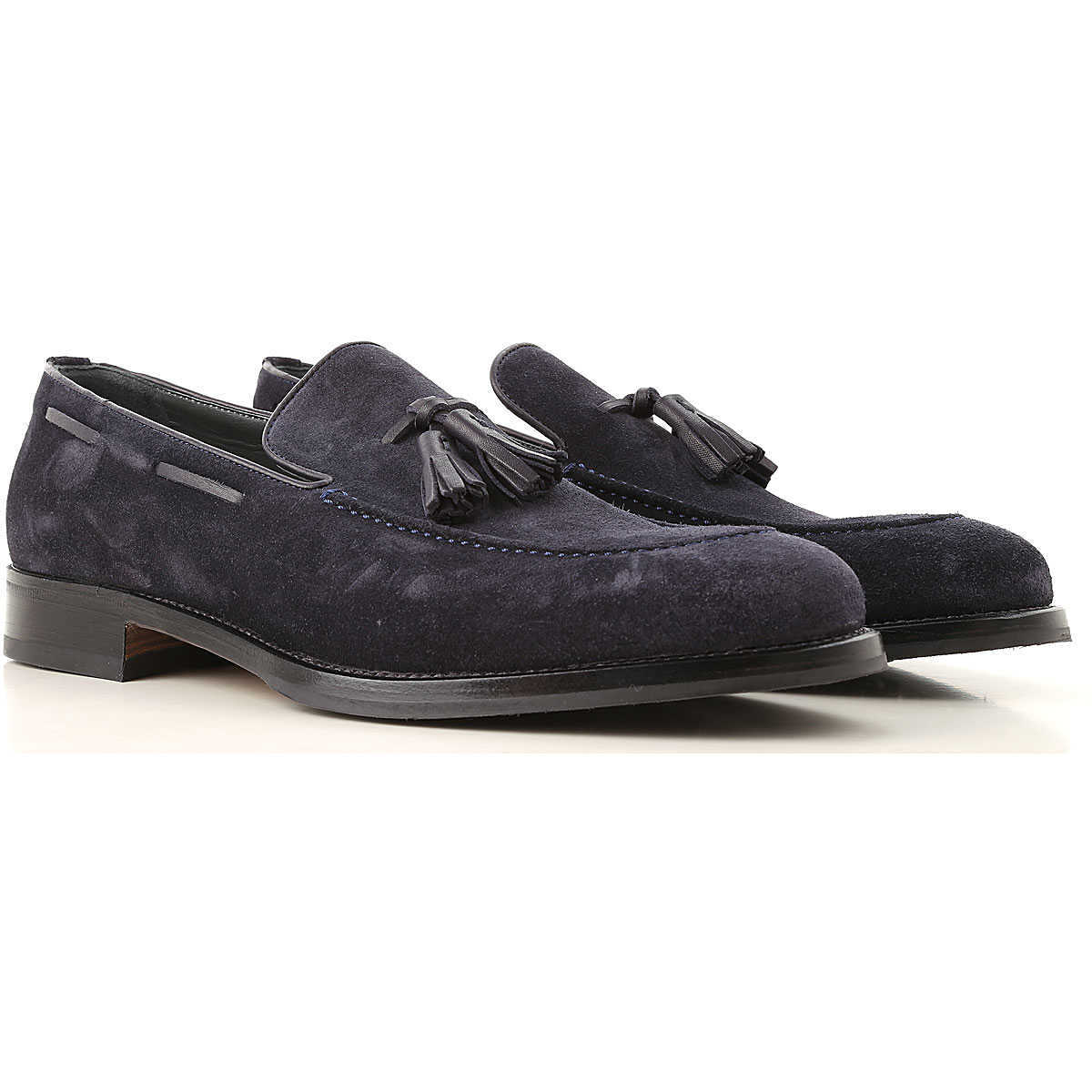 Moreschi Loafers for Men Blue Canada - GOOFASH - Mens LOAFERS
