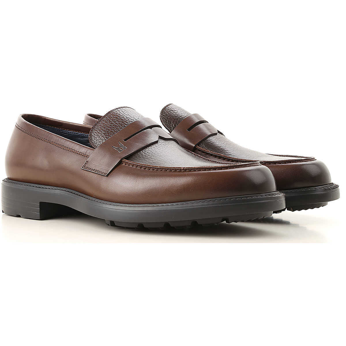 Moreschi Loafers for Men Brown Canada - GOOFASH - Mens LOAFERS
