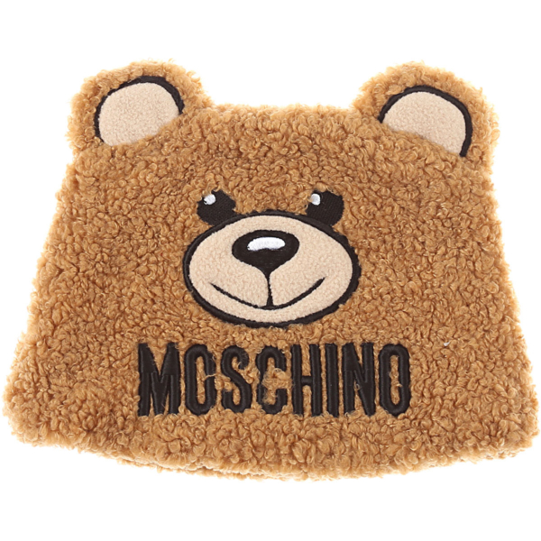 Moschino Baby Hats for Boys Camel Canada - GOOFASH - Mens HATS