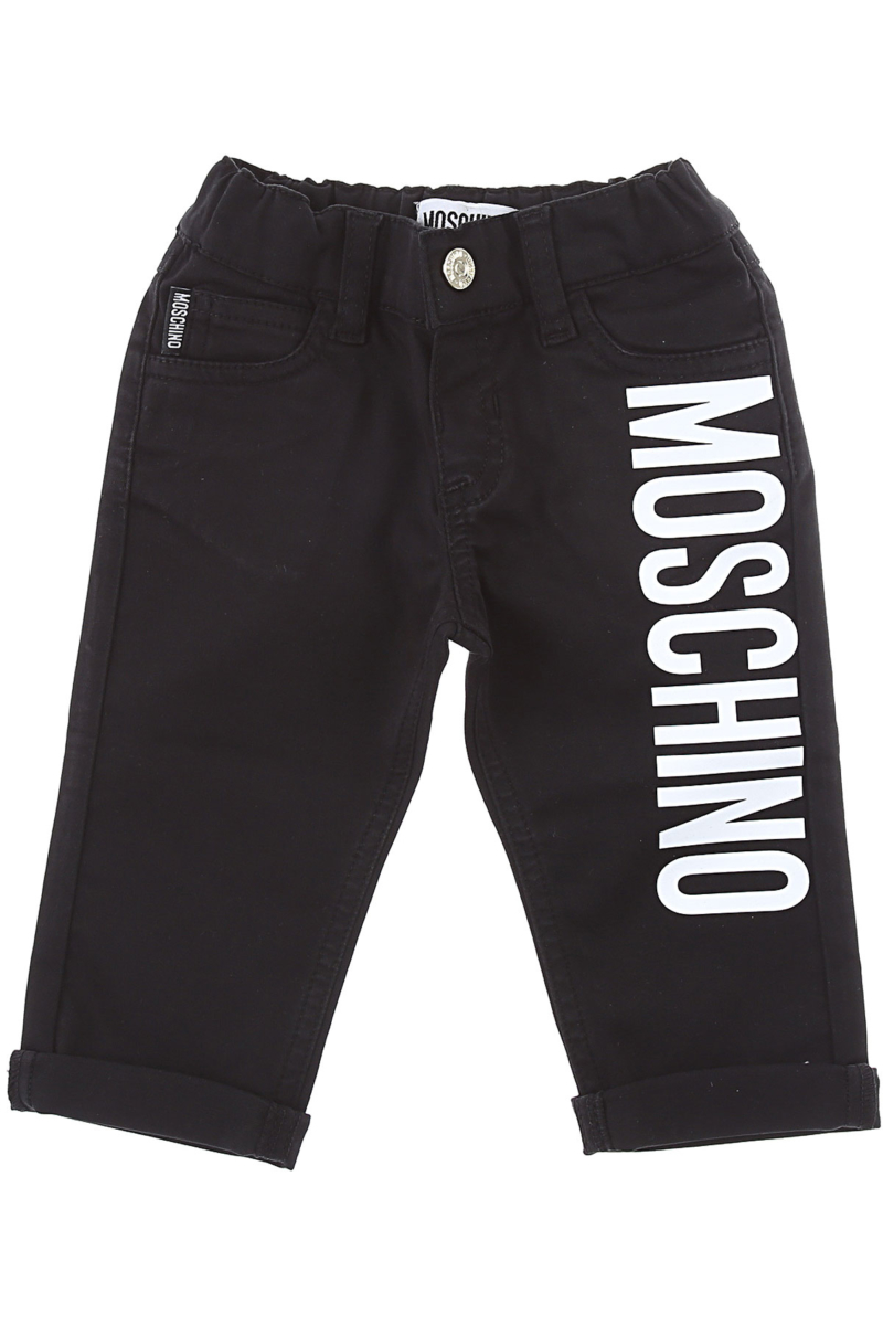 Moschino Baby Pants for Boys Black Canada - GOOFASH - Mens TROUSERS